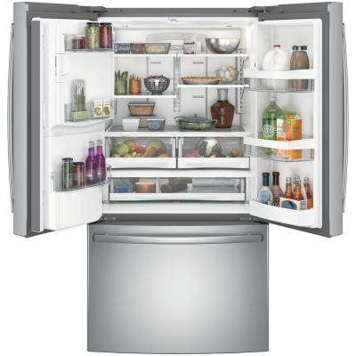 25.8 cu. ft. French Door Refrigerator in Stainless Steel