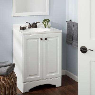 Builders 4 in. Centerset 2-Handle Low-Arc Bathroom Faucet in  Bronze