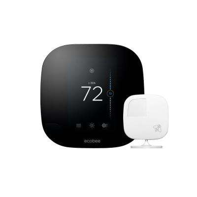 Ecobee3 7-Day Smarter Wi-Fi Programmable Thermostat with Remote Sensor, HomeKit Enabled
