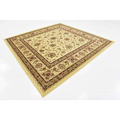 Voyage St. Louis Ivory 8' 0 x 8' 0 Square Rug