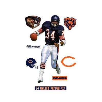 76 in. H x 40 in. W Walter Payton Wall Mural