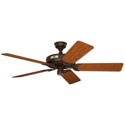 Original 52 in. Indoor/Outdoor Chestnut Brown Ceiling Fan