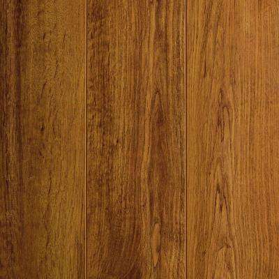 Medium Oak 12 mm Thick x 4.76 in. Wide x 47.52 in. Length Laminate Flooring (11 sq. ft. / case)