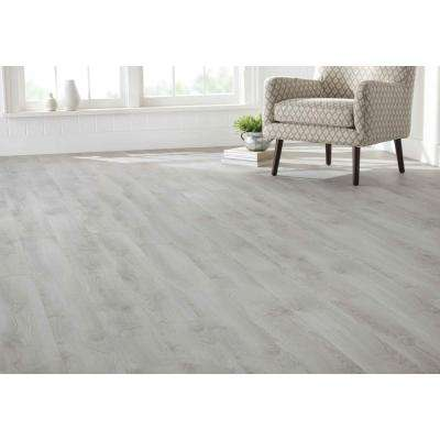 Emmeline Oak 8 mm T x 6.26 in. W x 54.45 in. L Laminate Flooring (23.67 sq. ft. / case)