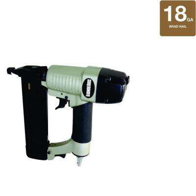 Pneumatic 2 in. x 18-Gauge Brad Nailer with Carrying Case