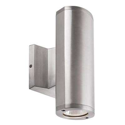 Montgomery Silver Outdoor Integrated LED Wall Mount Sconce