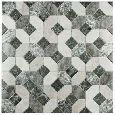 Caprice Marmol Gris 17-3/4 in. x 17-3/4 in. Ceramic Floor and Wall Tile (15.75 sq. ft. / case)