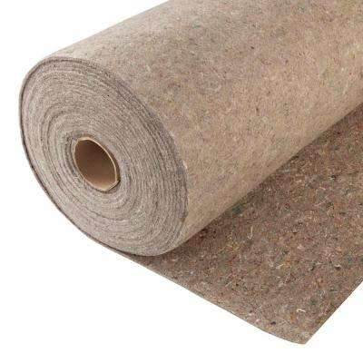 3/8 in. Thick 7.5 lb. Density Fiber Carpet Pad-DISCONTINUED