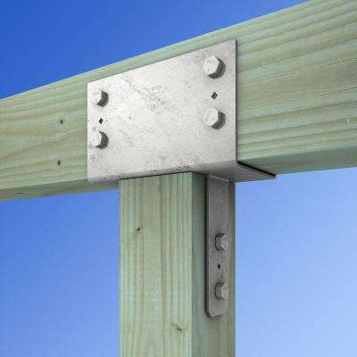 CC Hot-Dip Galvanized Column Cap for 6x Beam, 6x Post