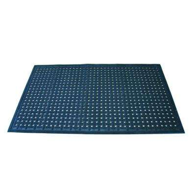 Uni-Mat Black 36 in. x 60 in. Nitrile Rubber All-Purpose Entry Mat