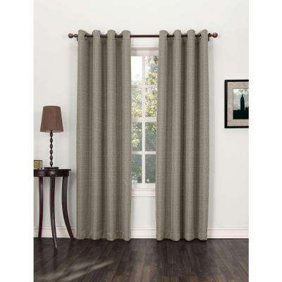 Marshfield Blackout Grommet Curtain Panel (Price Varies by Size)