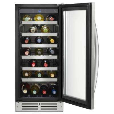 34-Bottle Wine Storage in Stainless Steel
