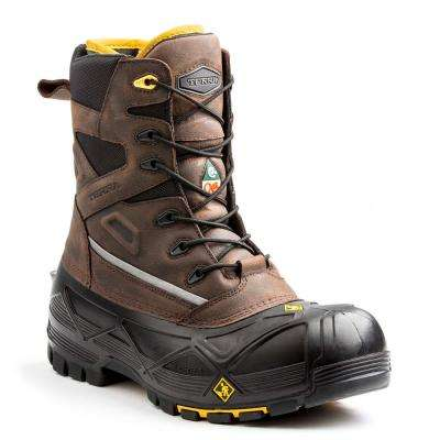 Crossbow XS Men's Brown Leather Work Boot