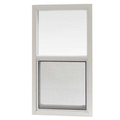 15.875 in. x 28.625 in. Mobile Home Single Hung Aluminum Window - White