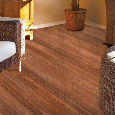 Strand Woven Toast 9/16 in. Thick x 3-3/4 in. Wide x 36 in. Length Solid Bamboo Flooring (15.13 sq. ft. / case)