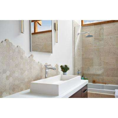 Coastal Sand 18 in. x 18 in. Honed Limestone Floor and Wall Tile (9 sq. ft. / case)