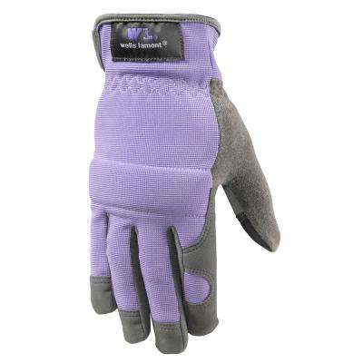 Women's Hi-Dexterity, Synthetic Leather Work Gloves with Touch Screen Capability, Small
