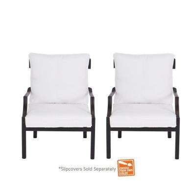 Oak Heights Lounge Chair with Cushion Insert (2-Pack) (Slipcovers Sold Separately)