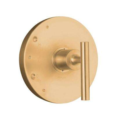 Purist 1-Handle Rite-Temp Valve Trim Kit in Vibrant Brushed Bronze (Valve Not Included)