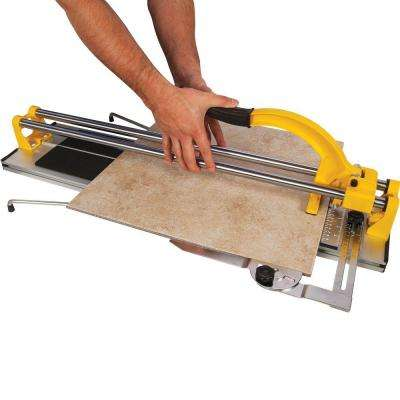 24 in. Rip Porcelain and Ceramic Tile Cutter