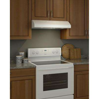 Osmos 30 in. Convertible Range Hood in White