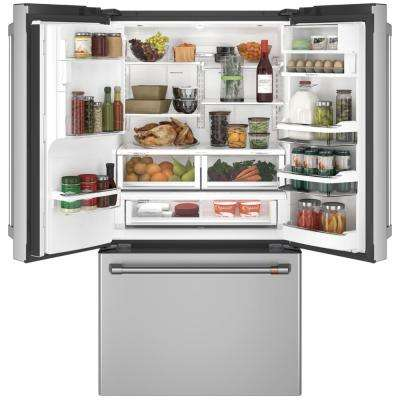 22.2 cu. ft. Smart French Door Refrigerator with Keurig K-Cup in Stainless Steel, Counter Depth and ENERGY STAR