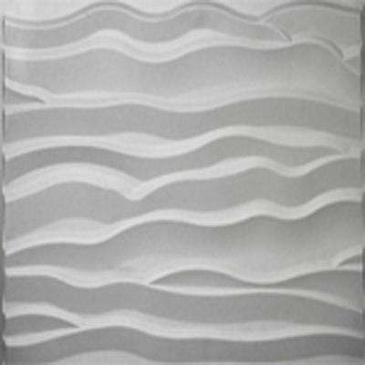 32 sq. ft. Plant Fiber Wainscot Dune Wall Panel