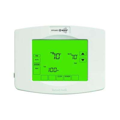 Z-Wave 7-Day Touchscreen Thermostat with Wiresaver