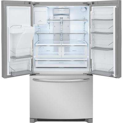 26.8 cu. ft. French Door Refrigerator in Smudge-Proof Stainless Steel