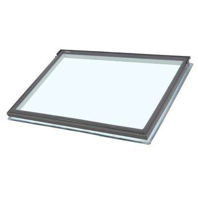 44-1/4 in. x 26-7/8 in. Fixed Deck-Mount Skylight with Laminated Low-E3 Glass
