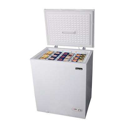 5.0 cu. ft. Chest Freezer in White
