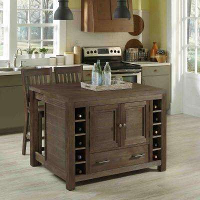 48 in. W Barside Kitchen Island with Seating