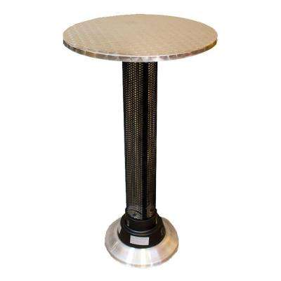 1,500 Watt Infrared Pub Table with Build in Electric Patio Heater