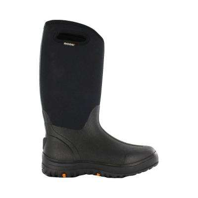 Classic Ultra High Women 13 in. Size 6 Black Rubber with Neoprene Waterproof Boot