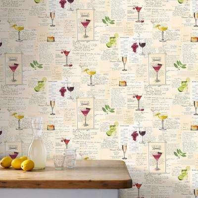 Multi Colored Cocktails Wallpaper