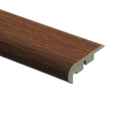 Kingston Peak Hickory/Dakota Oak 3/4 in. Thick x 2-1/8 in. Wide x 94 in. Length Laminate Stair Nose Molding