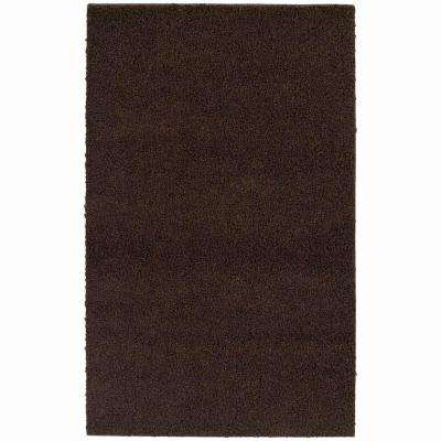 Southpointe Shag Chocolate 7 ft. 6 in. x 9 ft. 6 in. Area Rug