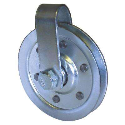 3 in. Pulley with Fork and Bolt