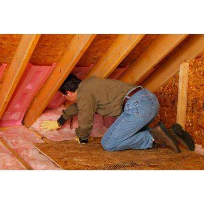 R-30 EcoTouch PINK Unfaced Fiberglass Insulation Batt 24 in. x 48 in. (8-Bags)