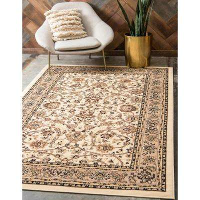 Sialk Hill Washington Ivory 8' 0 x 10' 0 Area Rug