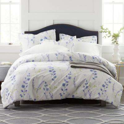 Penfield Floral 400-Thread Count Sateen Duvet Cover