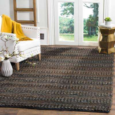 Natural Fiber Charcoal 3 ft. x 5 ft. Indoor Area Rug