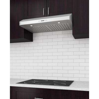 Slim Chef 30 in. Under-Cabinet Range Hood in Stainless Steel