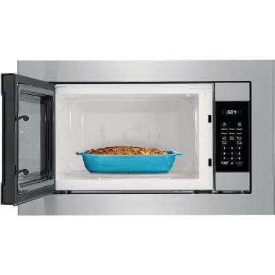 2.2 cu. ft. Built-In Microwave in Stainless Steel