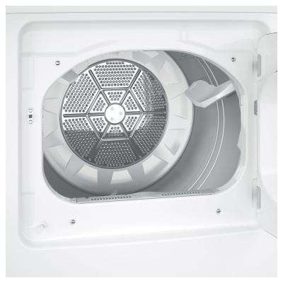6.2 cu. ft. 240 Volt White Electric Vented Dryer