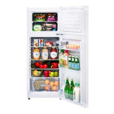 6.0 cu. ft. 170 l Solar DC Top Freezer Refrigerator Danfoss/Secop Compressor in White