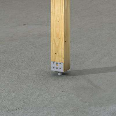EPB Elevated Post Base for 4x4 Nominal Lumber