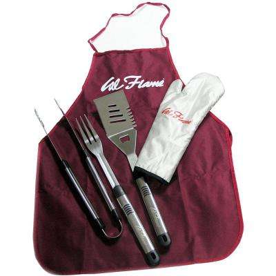 5-Piece Utensil Tool Set with Storage Bag