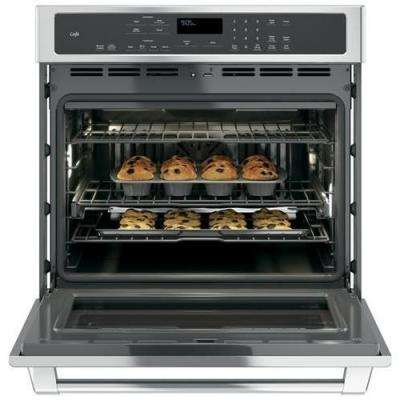 30 in. Single Electric Smart Wall Oven Self-Cleaning with Convection and WiFi in Stainless Steel