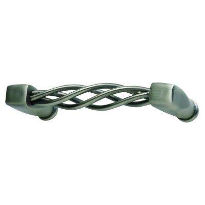 Twisted Wire Collection Pewter 3.5 in. Pull